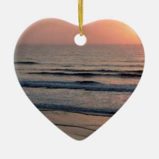 Sunset Del Mar California Christmas Ornament