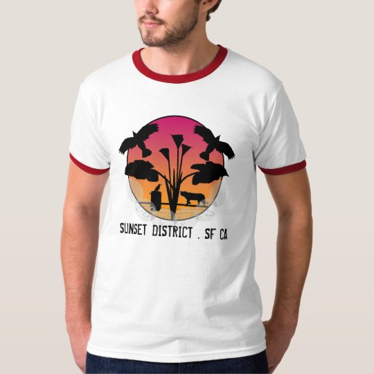 SUNSET DISTRICT . SF CA T-Shirt