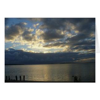 Sunset Drama Card