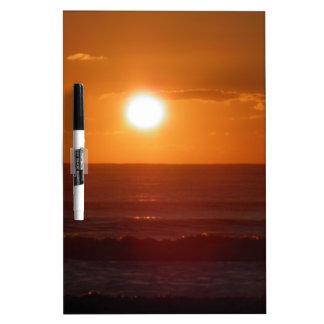 Sunset Dry Erase Board