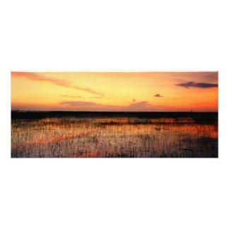 Sunset, East Lake Toho. Osceola Co., Fl. Photographic Print