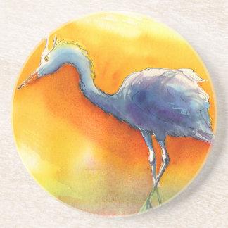 Sunset Egret Coaster