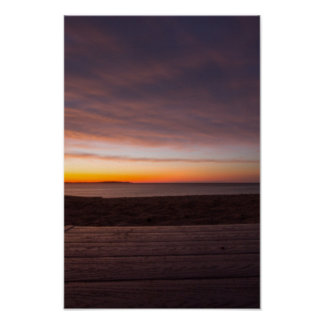 Sunset, Elk Rapids, Michigan Poster