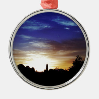 Sunset Europes Fortune Christmas Ornaments