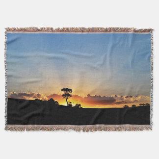 Sunset Farm Londrina Throw Blanket