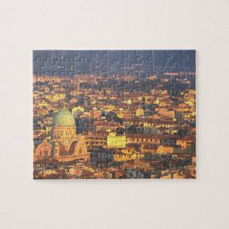 Sunset Florence Italy 1995 Jigsaw Puzzle