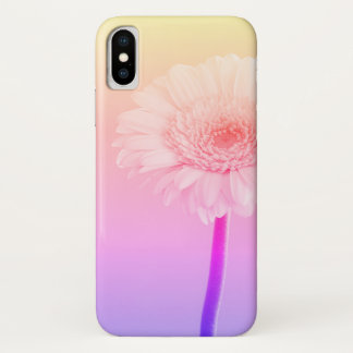 Sunset flower iphone x case, psychedelic case