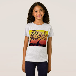 Sunset flowers T-Shirt