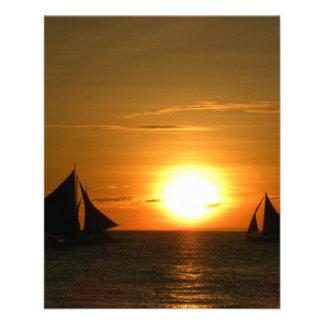 Sunset Custom Flyer