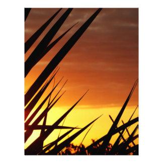 Sunset Full Color Flyer