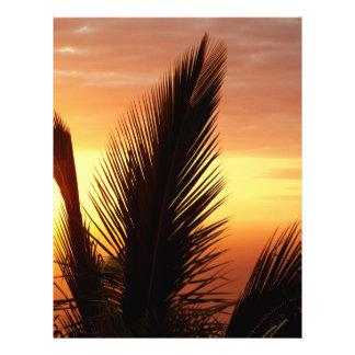 Sunset Flyer Design