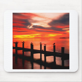 Sunset Fort Myers Prom Florida Mousepads