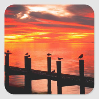 Sunset Fort Myers Prom Florida Sticker