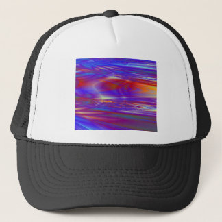 Sunset Fractal Design Hat