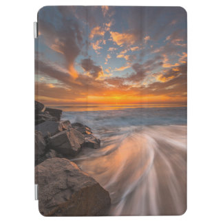 Sunset from Tamarach Beach iPad Air Cover