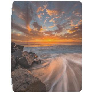 Sunset from Tamarach Beach iPad Cover