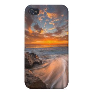 Sunset from Tamarach Beach iPhone 4/4S Case