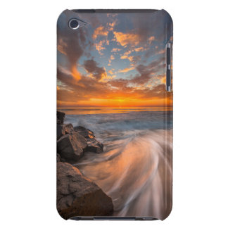 Sunset from Tamarach Beach iPod Touch Case