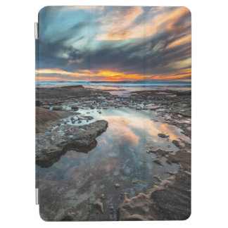 Sunset from the tide pools iPad air cover