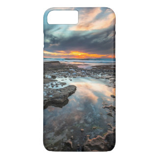 Sunset from the tide pools iPhone 7 plus case