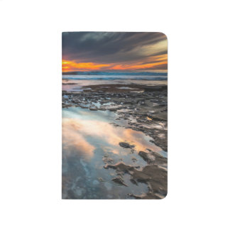 Sunset from the tide pools journal