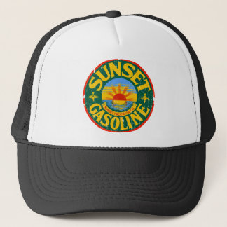 Sunset Gasoline Trucker Hat