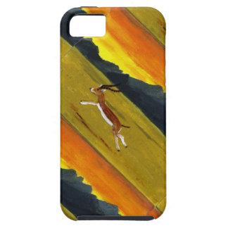 Sunset Gazelle wildlife art iPhone 5 Cover