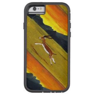 Sunset Gazelle wildlife art Tough Xtreme iPhone 6 Case
