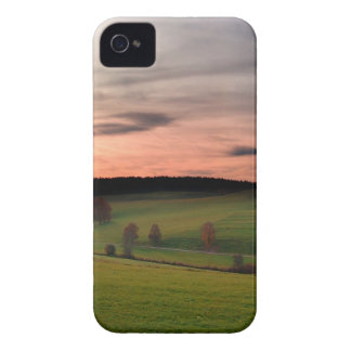 Sunset German Field Of Dreams Case-Mate iPhone 4 Cases