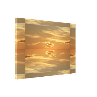 Sunset: Golden II SDL Canvas Print
