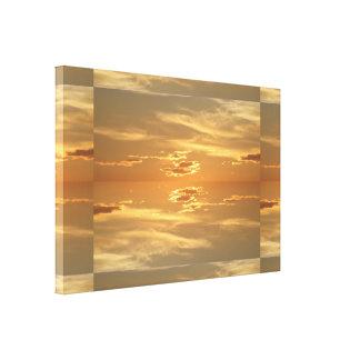 Sunset: Golden II SDL Stretched Canvas Prints