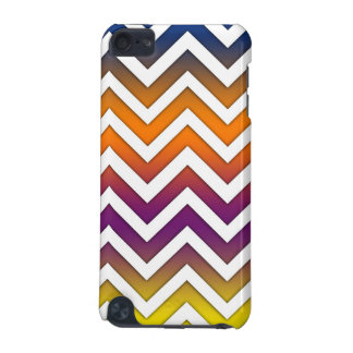 Sunset Gradient Chevron iPod Touch 5G Cases