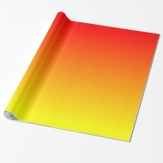 Sunset Gradient Wrapping Paper