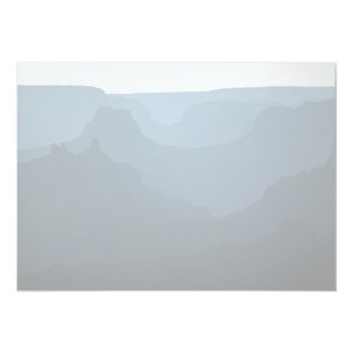 "Sunset, Grand Canyon National Park, Colorado, USA 5"" X 7"" Invitation Card"