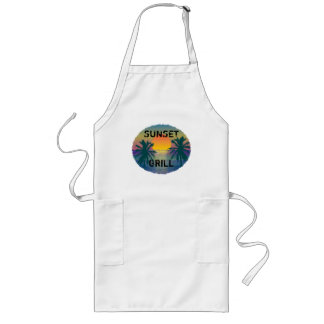SUNSET GRILL LONG APRON