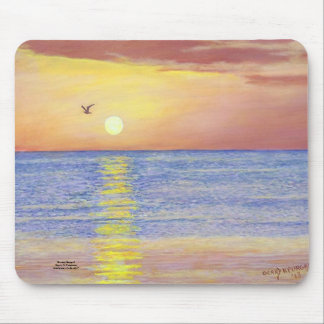 SUNSET GULL NAPLES FLORIDA MOUSEPAD