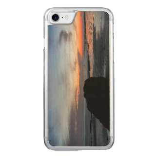 Sunset Handry's Beach Carved iPhone 7 Case