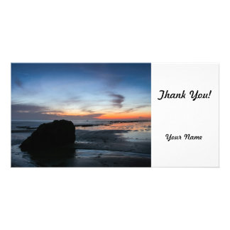 Sunset Handry's Beach Photo Card