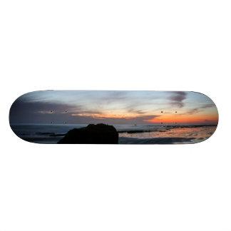 Sunset Handry's Beach Skate Deck