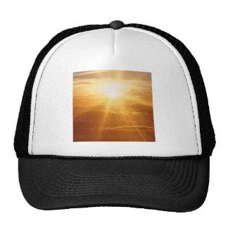 Sunset Heavens View Mesh Hats