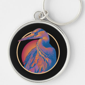 Sunset Heron Key Chain (Lori Corbett)