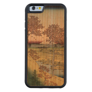 Sunset Hill, Meguro in the Eastern Capital. Carved Cherry iPhone 6 Bumper Case