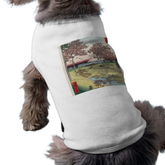 Sunset Hill, Meguro in the Eastern Capital. Sleeveless Dog Shirt