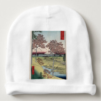 Sunset Hill, Meguro in the Eastern Capital. Baby Beanie