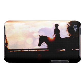 Sunset Horse Ride Barely There iPod Covers