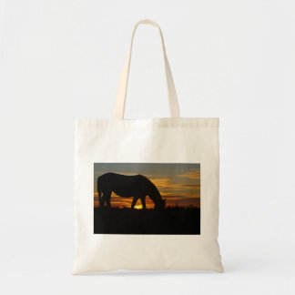 Sunset Horse Tote
