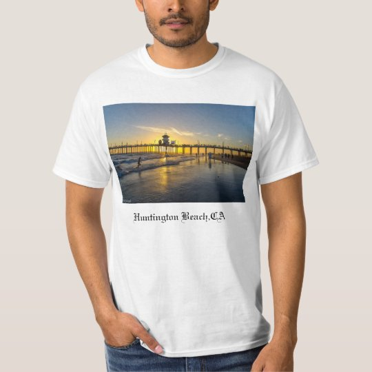 Sunset@Huntington Beach,CA T-Shirt