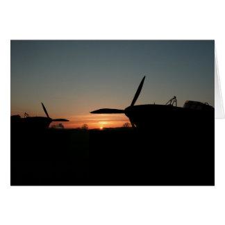 sunset hurricane card