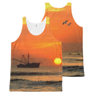 Sunset image for All-Over-Printed-Unisex-Vest All-Over Print Tank Top