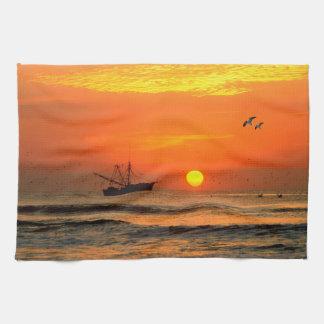 Sunset image for Tea-Towel Tea Towel
